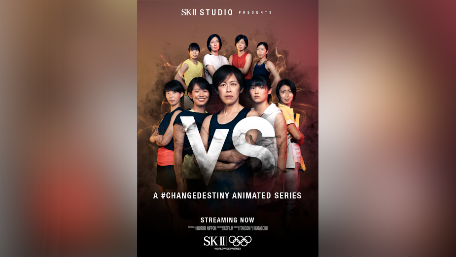 SK-II STUDIO Teams up with Olympic Athletes for 'VS' Animated Anthology