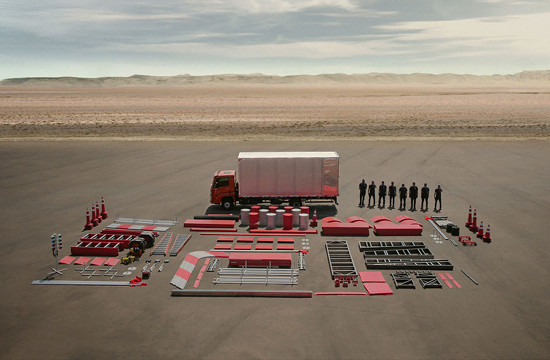 This VW Truck's Capacity Is So Big It Can Carry Its Entire Test Track