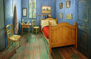 Van Gogh BNB Lets Art Fans Experience 'The Bedroom' First Hand
