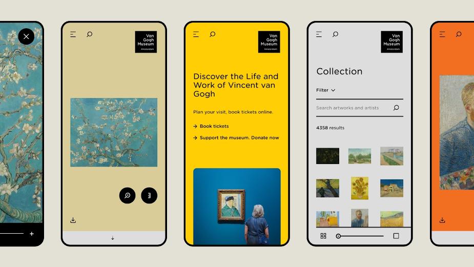 Dept Brings Van Gogh to Life for Museum Website Relaunch