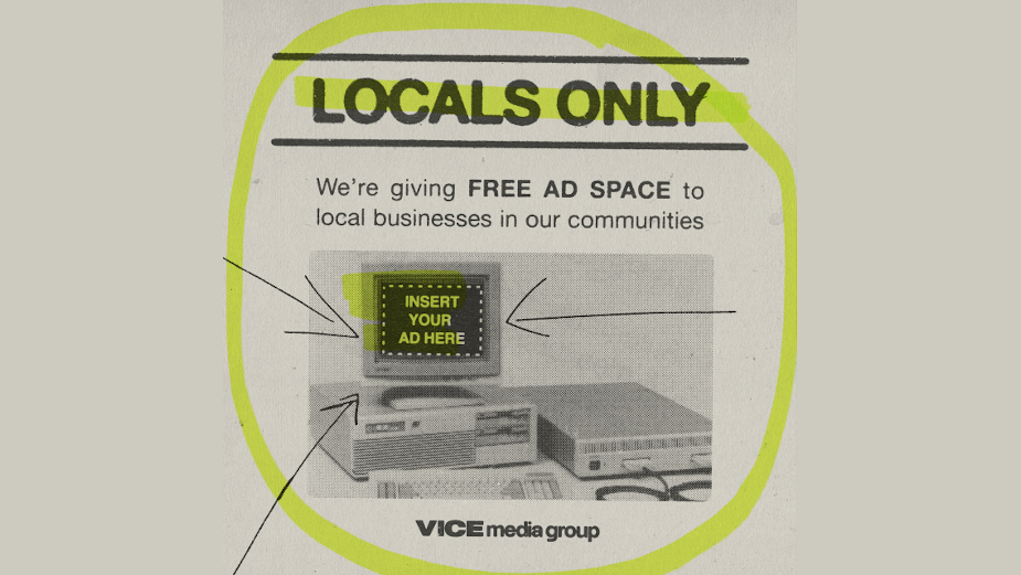 VICE Media Group Launches 'Locals Only' Small Business Initiative