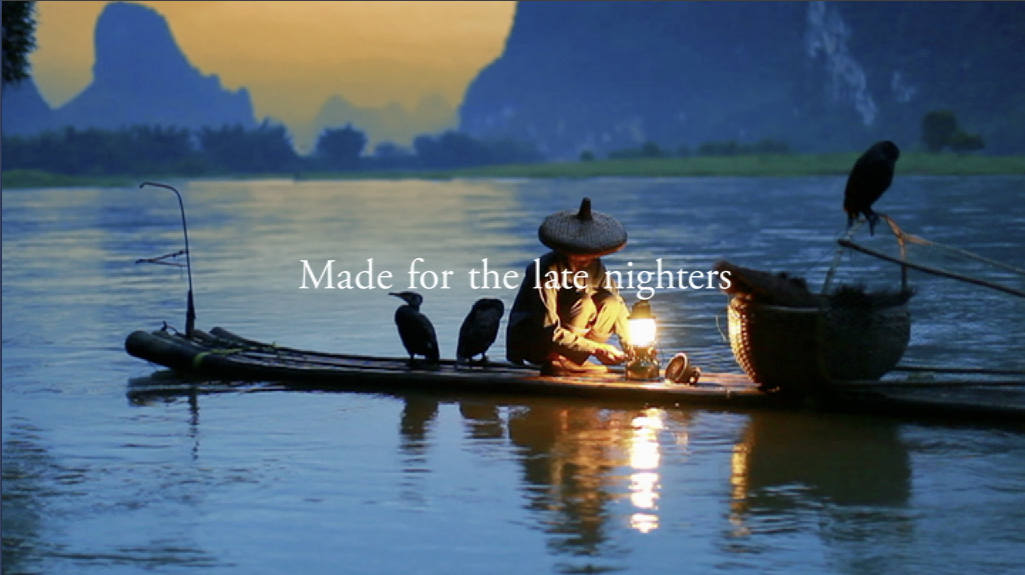 Beautiful Viking Cruises Ident Is Made For the Late Nighters