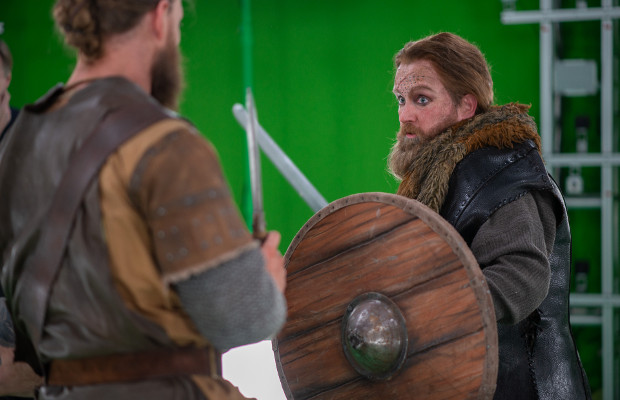 Odin's Blessing: How Volumetric Capture Recreated a Realistic VR Viking Battle
