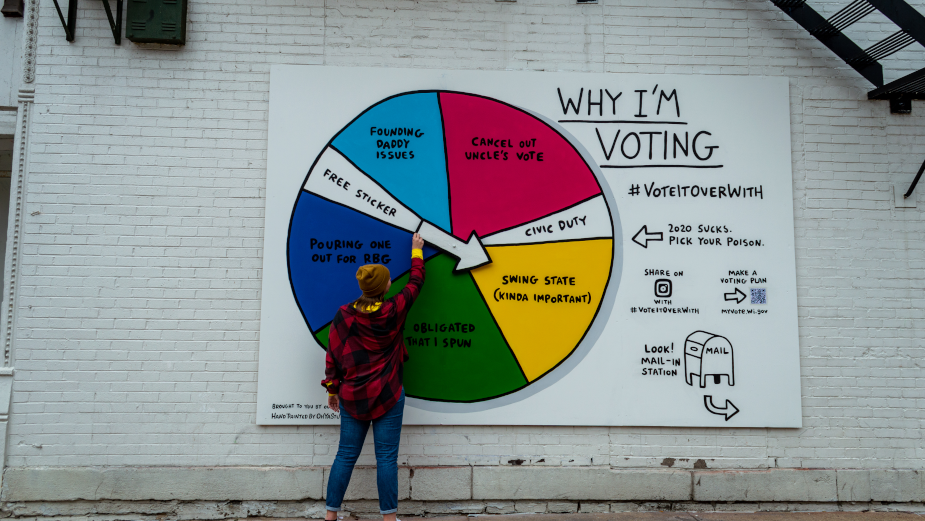 Outrider Foundation Urges Youth to Make 2021 Better Than 2020 with Clever Voting Initiative