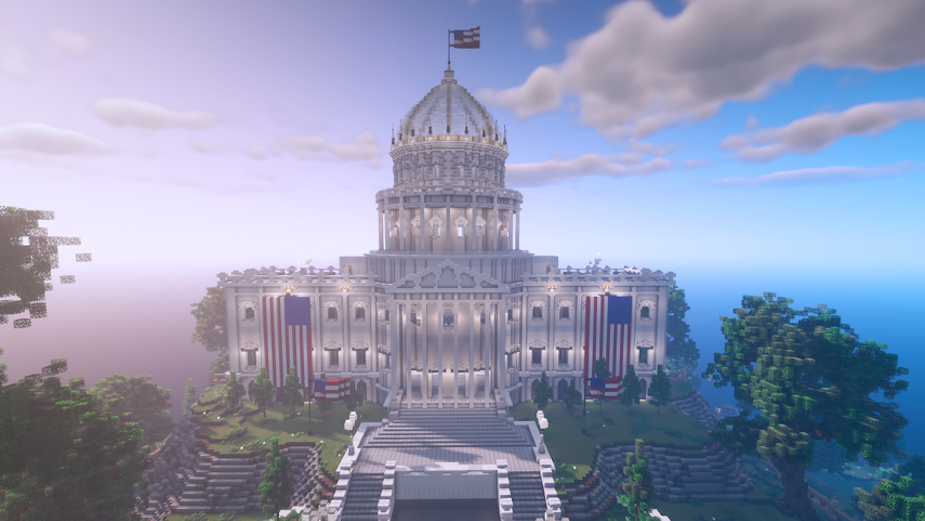Rock the Vote's New Minecraft Polling Houses Educate and Engage Young People on Voting Process