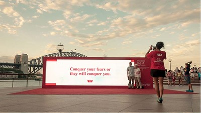 Westpac Partners with City of Sydney to Debut 'Westpac Wall of Fortune' for Chinese New Year