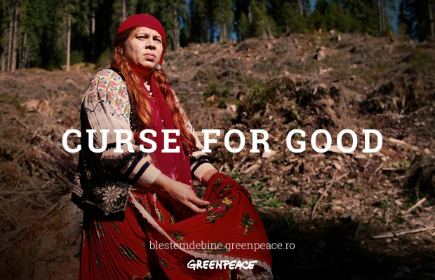 Greenpeace Romania Enlists Witches to Cast a Curse on Illegal Logging