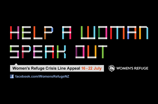 Women's Refuge NZ Launches 'Donate Your Words'