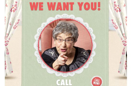 Grannies Wanted for WWF National Sweater Day
