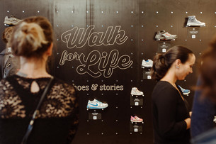 This Pop-Up Shoe Store in Frankfurt Hides a Powerful Message