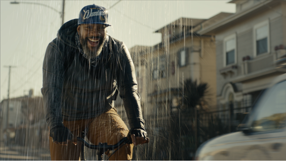The Golden State Warriors Make It Rain in Cool New Spot Celebrating the End of Their Basketball Drought