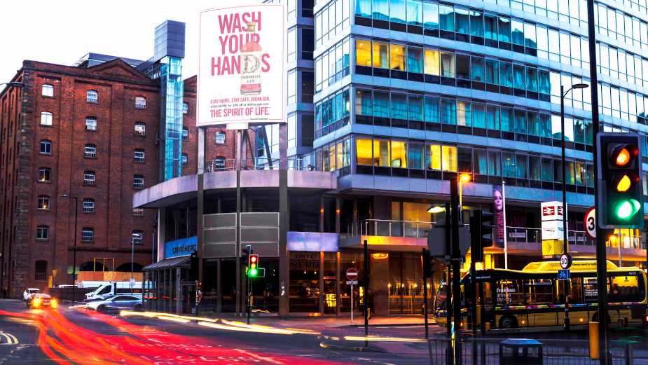 Didsbury Gin Gets in the Spirit of Lockdown with DOOH Campaign