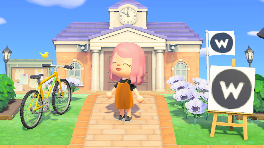 Visit Waste's Animal Crossing: New Horizons Office and Win an Internship
