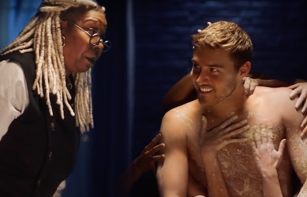Whoopi Goldberg Lets Love Get Messy in Ghost-Inspired Promo for The Bachelor