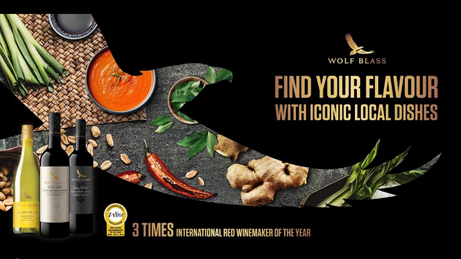 Wolf Blass Helps Find Your Flavour in Spicy New Campaign