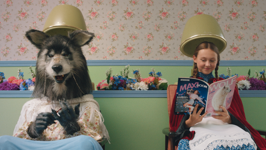 Little Red Riding Hood and 'Grandma' Have the Time of Their Lives in New Rustlers Campaign