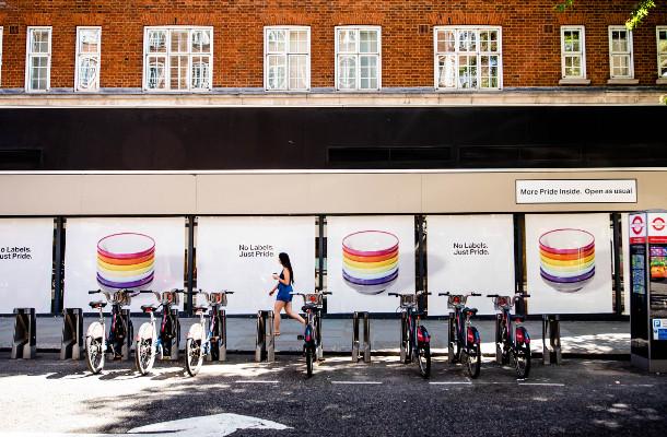 YO! Abandons Branding for Pride in London 2018