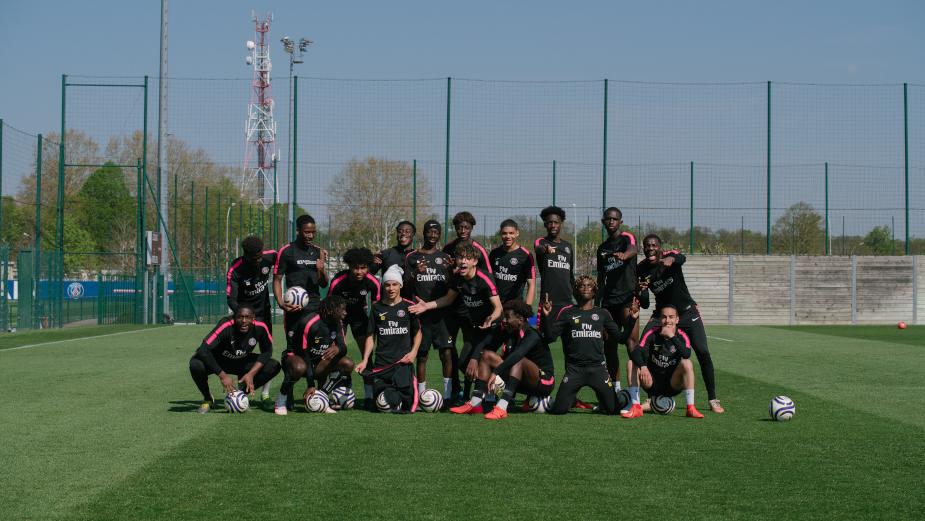 Live the Training, Pressure and Struggles of Paris Saint-Germain's U19 Players in 'Le Jardin'