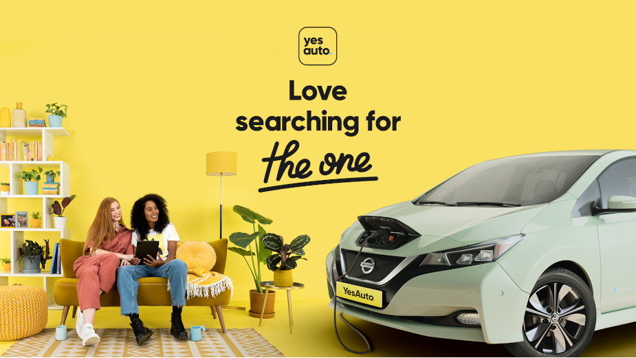 Forget Dates and Fall in Love with Your Car with YesAuto's New Buying Platform Campaign