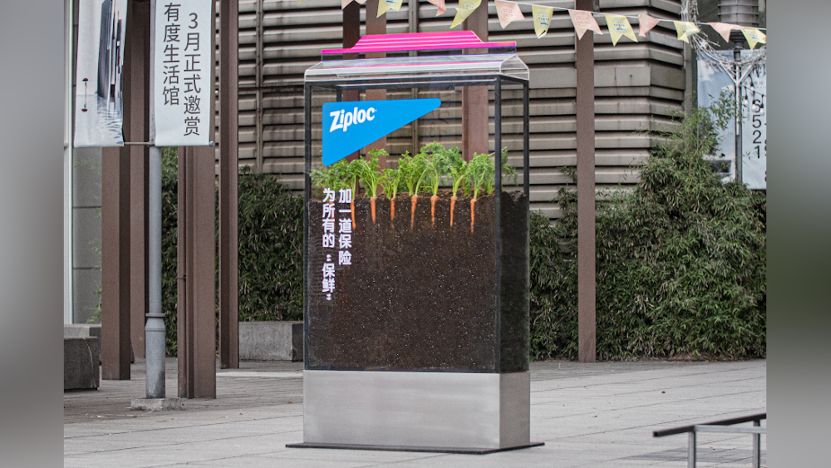 Ziploc Transforms Light Boxes with Signature Seals to Keep Food Fresh Outside