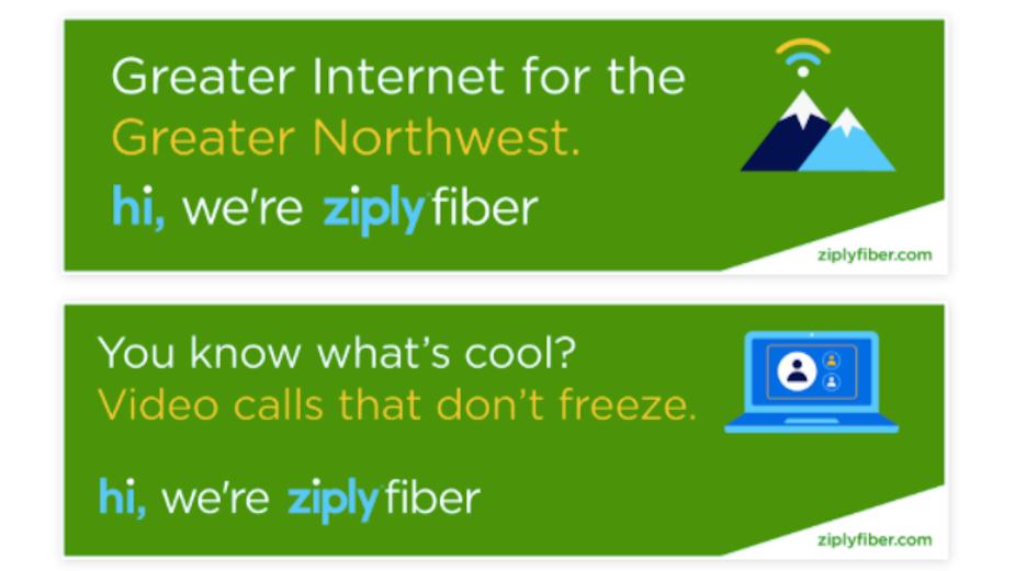 Friendly Internet Provider Ziply Fiber Launches Latest Campaign
