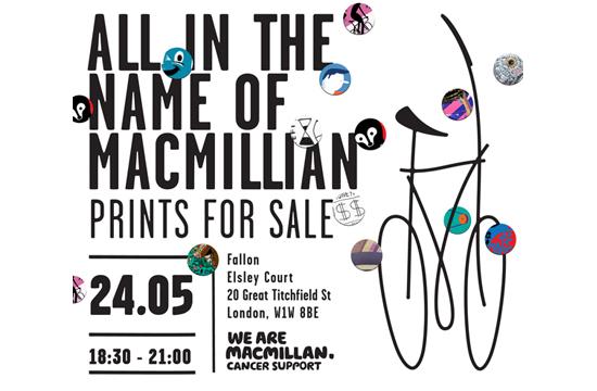 Fallon London Hosts Exhibition For MacMillan Cancer