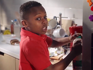 TBWA\London Reimagines Iconic Accrington Stanley Milk Board Ad with a Twist
