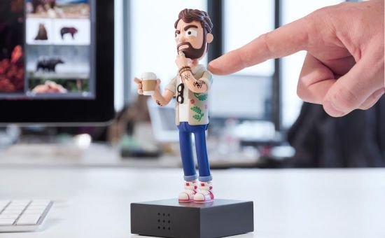 Win Your Very Own Hovering Art Director Action Figure