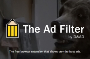 See the Best in Advertising While Browsing with D&AD's Ad Filter