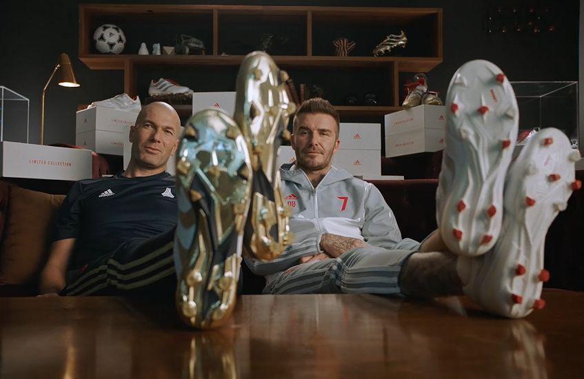 Beckham and Zidane Play Judge in adidas '25 Years Of Predator' Campaign
