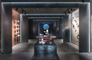 Sid Lee and Sid Lee Architecture Design Adidas x CNCPTS Sanctuary in Boston