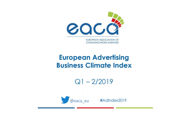 Confidence in European Advertising Business Decreases Slightly in Q1/2019