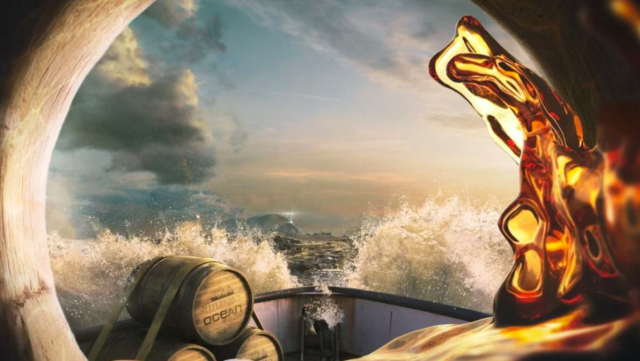 Jefferson's Bourbon is 'Aged at the Mercy of the Sea' in Campaign from Tombras