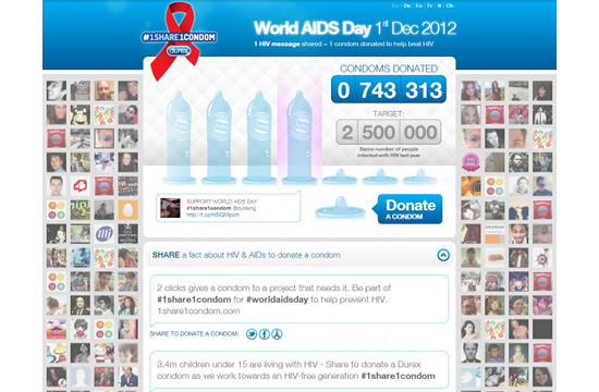 Durex Campaign to Battle Spread of HIV