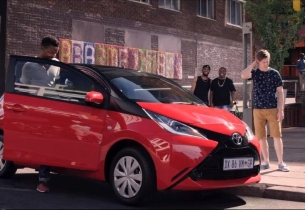 FCB Johannesburg Makes its Mark with Latest Ad for Toyota Aygo