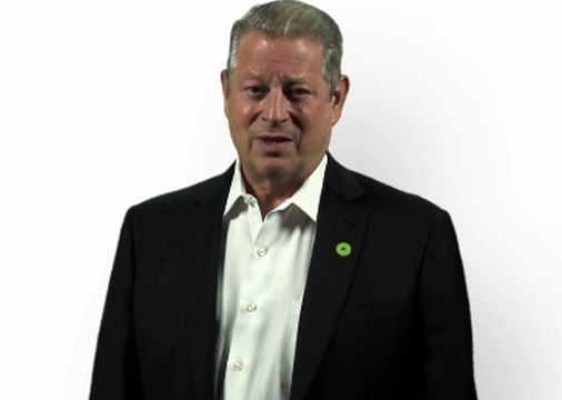 """Former Vice President Al Gore Asks """"Why? Why Not?"""" to Fight Climate Change"""