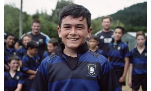 The All Blacks Make A Boys Dream A Reality In Weet-Bix Campaign