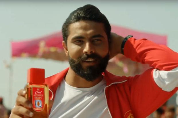 International Cricketer Ravindra Jadeja Launches Icy Bajaj Almond Drops Campaign