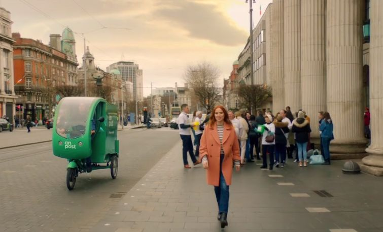 Ireland Is on a Journey in An Post's Brand Refresh from JWT Folk