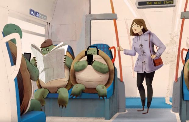 The Animal Magic Behind a Beautiful Animated Campaign about Being Considerate
