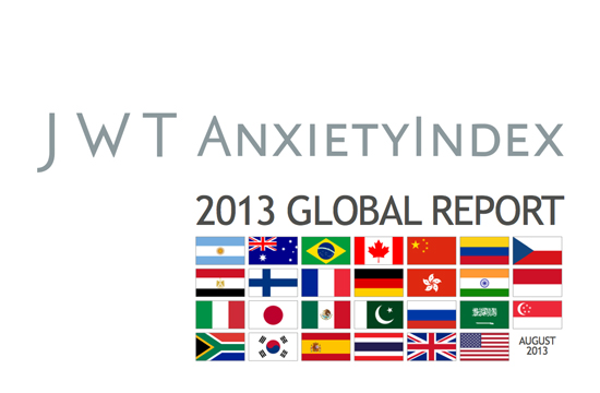 On Edge? JWT Releases AnxietyIndex
