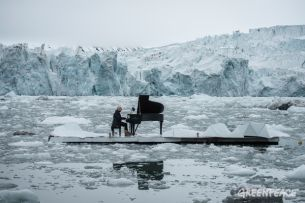 Greenpeace Release Behind The Scenes Video of The  'Elegy for the Arctic'