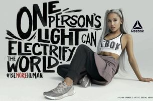 Ariana Grande Stars in New Reebok Campaign Spotlighting Women Transforming Themselves and the World