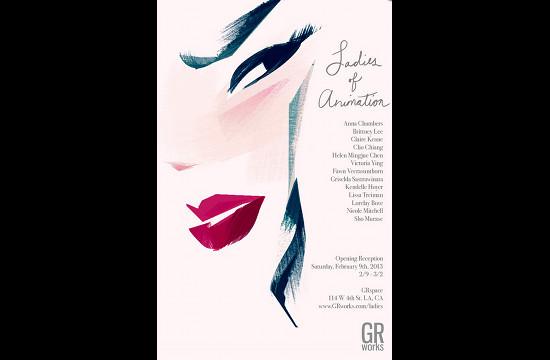 'Ladies of Animation' Art Show