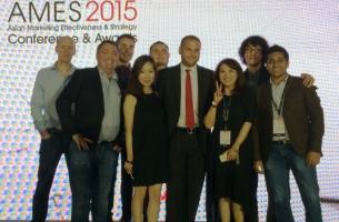 BBDO Most Awarded Network at Asian Marketing Effectiveness & Strategy Awards