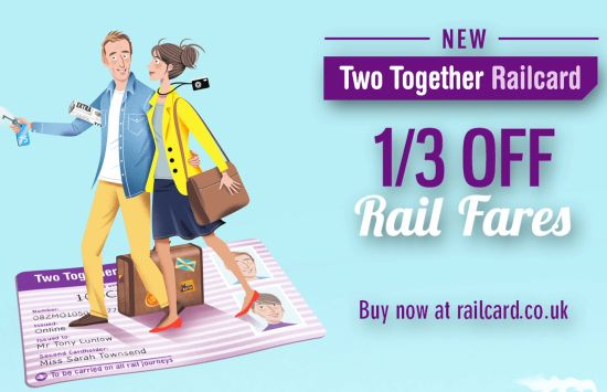 ATOC and The Red Brick Road launch Two Together Railcard Campaign