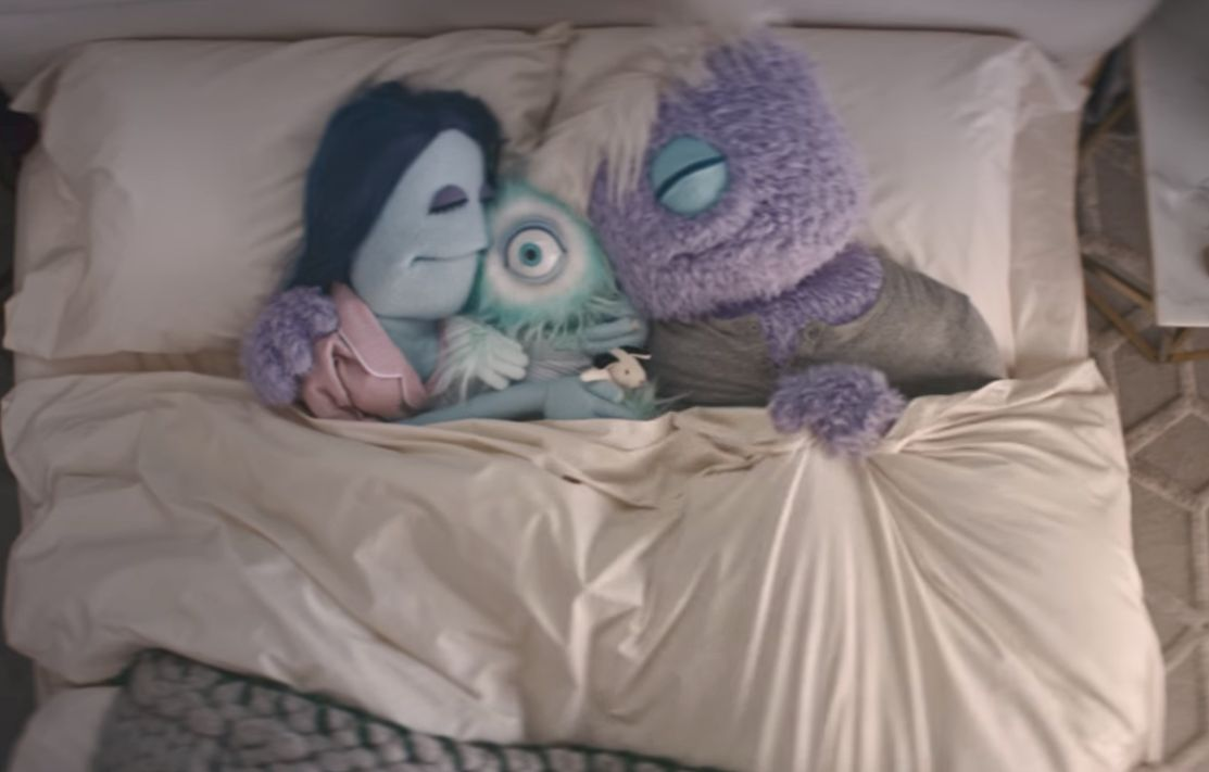 Fuzzy Puppets Testify for Casper Mattress in New Spot from Partners & Spade