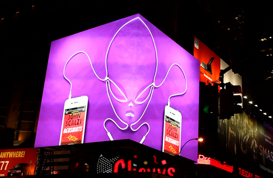 Audible 'Times Square Digital Display'