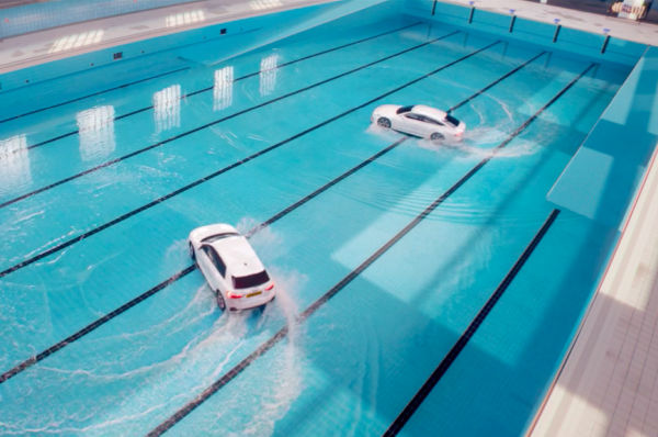 Audi Makes a Splash with New Synchronised Swimming Film