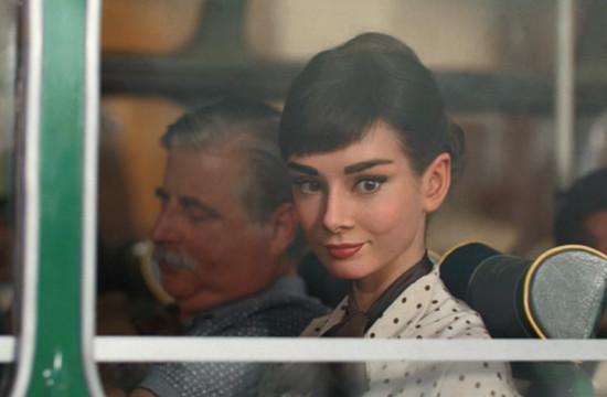 AMV BBDO's Galaxy Ad with Audrey Hepburn
